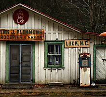 a little bit of luck by J.K. York