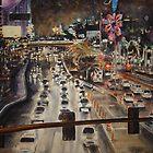 Las Vegas de Noche by jadlart