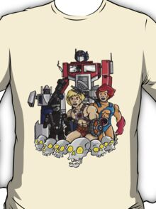 Evil Eighties Action Figures T-Shirt
