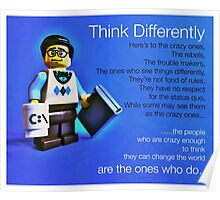 Think differently...... Poster