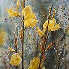 Yellow wildflowers by jadlart