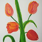 Just Tulips by George Hunter