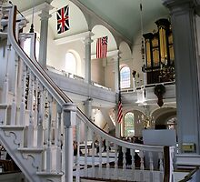 Inside Old North Church by DJ Florek