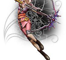 Fantasy XIII-2 - Serah Farron² by IzayaUke