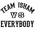 Team Isham by Darryl Pickett