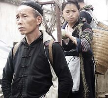 Sapa tribes by Dannica