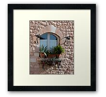 Garden On High Framed Print