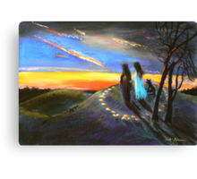 Collaboration with Redbubble Author, Enivea .....Dancing in the Dawn Canvas Print