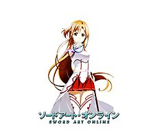 SAO Asuna Sword Photographic Print
