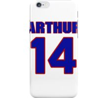 Basketball player Arthur Becker jersey 14 iPhone Case/Skin