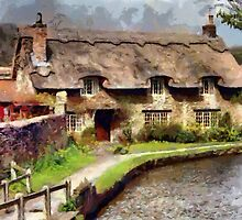 Beck Isle Cottage, Thornton-le-dale, Yorkshire by Dennis Melling