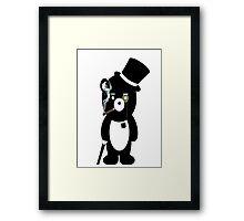 Pimpin' bear Framed Print