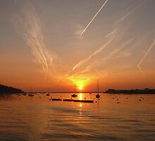 Sunrise over Upnor - February by brummieboy