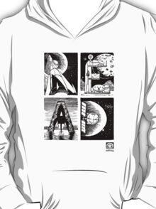 Read! Science Fiction Alphabet Letter design T-Shirt