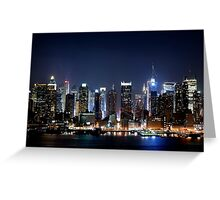 New York City Blues Greeting Card