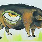 in a pigs eye by giantrabbit