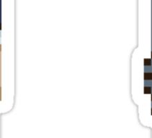 Pixel paradox Sticker