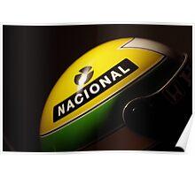 Senna 1988 Helmet photo Poster