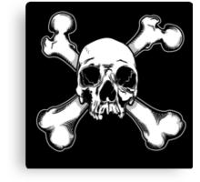 Skull and Crossbones - Jolly Roger 1 Canvas Print