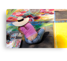 Street Art Meet Body Art Canvas Print