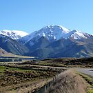 Road into Hanmer Springs, NZ by Magee