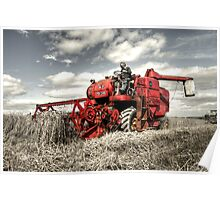The Red Combine Poster