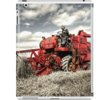 The Red Combine iPad Case/Skin
