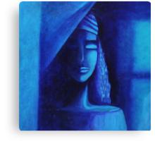 Sipping Stillness Canvas Print