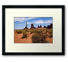 From the Earth I Arise Framed Print