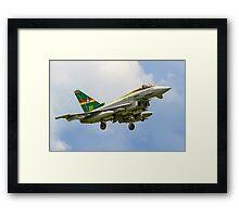3 Sqn Centenary Typhoon ZJ936/QO-C Framed Print