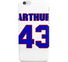 Basketball player Arthur Becker jersey 43 iPhone Case/Skin