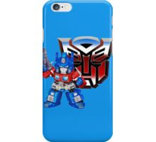 SD Optimus Prime iPhone Case/Skin