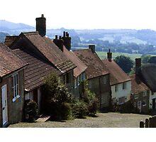 Gold Hill, Shaftsbury Dorset Photographic Print
