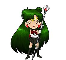 Sailor Scout Sailor PLUTO by Bantambb