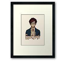 Parasyte 寄生獣 kiseijuu sei no kakuritsu Framed Print