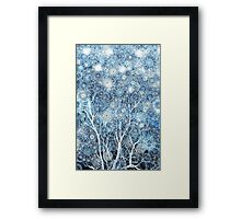Canopy of Snow Framed Print