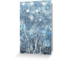 Canopy of Snow Greeting Card
