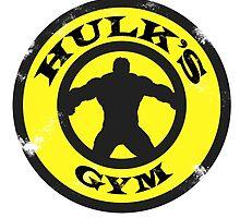 Hulk's Gym by AllMadDesigns