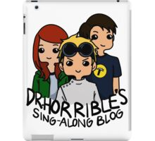 Dr. Horrible's Sing-Along Blog iPad Case/Skin