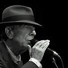 Leonard Cohen plays live by Anima Fotografie