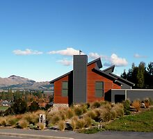House on a hill in Hanmer by Magee