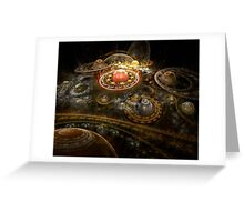 I Dream In Fractals Greeting Card