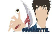Shinichi Izumi Parasyte 寄生獣 kiseijuu sei no kakuritsu by urgotv