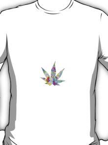 Weed Leaf Trippy T-Shirt