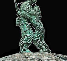 Korean War Memorial by Alex Weeks