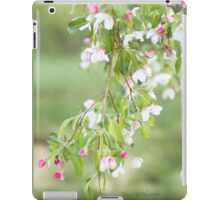 Crab Appel Flower Sprig iPad Case/Skin