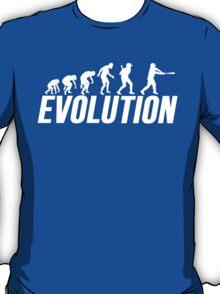 Baseball Evolution Baseball Player T-Shirt
