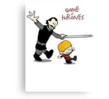 Tyrion and Bronn- Game of Thrones Shirt Metal Print