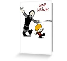 Tyrion and Bronn- Game of Thrones Shirt Greeting Card
