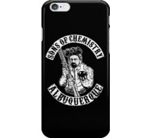 Sons of Chemistry- Breaking Bad Shirt iPhone Case/Skin
